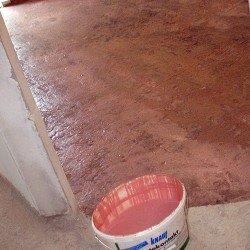 Приготовление бетоноконтакта