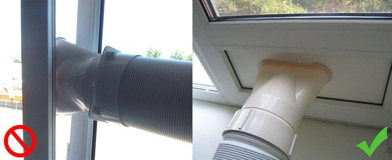 Как правильно вывести воздуховод на улицу