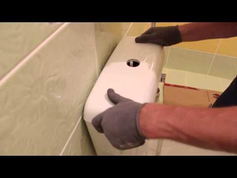 Самостоятельный монтаж унитаза Часть 4 Подключаем воду, проверяем работу
