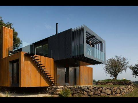 Модульные дома для постоянного проживания. Современные идеи