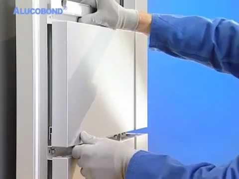 Алюкобонд технология монтажа