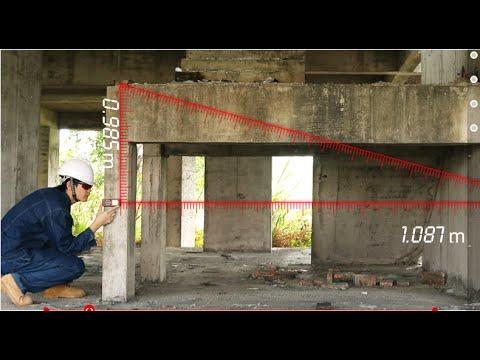 Лазерная рулетка на 50 метров. Тест на максимальное расстояние.