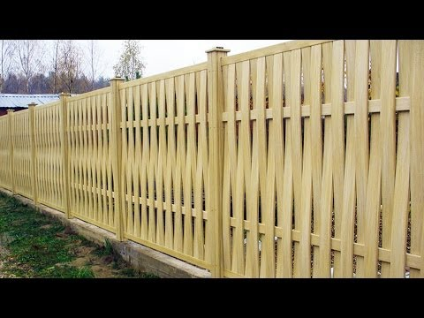 Как построить дачный забор? GuberniaTV