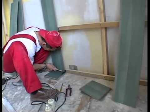 Отделка стен ламинированными досками и пластиковыми панелями