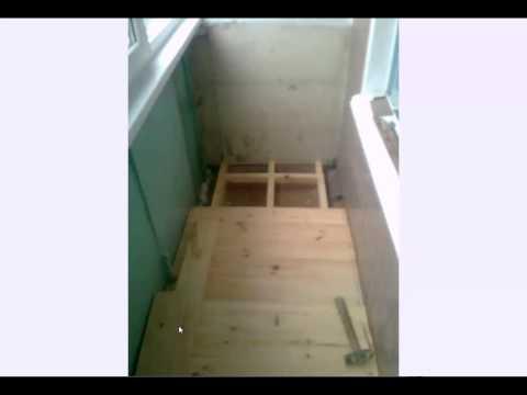 Пол на балконе ,от проекта до исполнения.