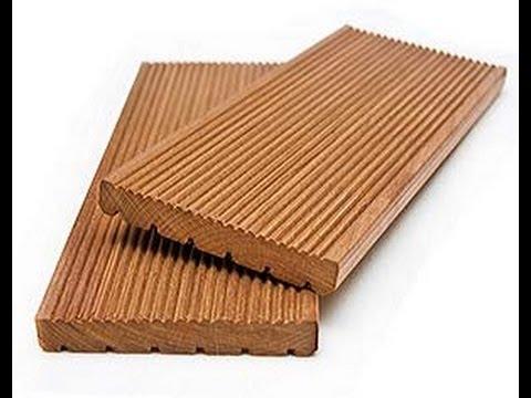 Террасная доска из древесины и термодревесины