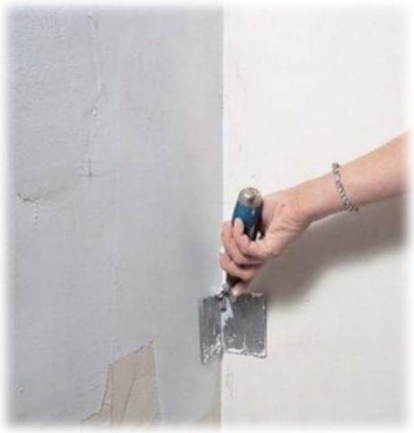шпаклевка внутреннего угла стены