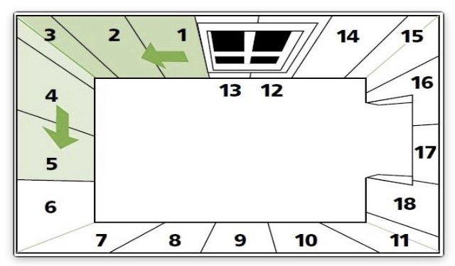 рассчёт количества обоев на комнату