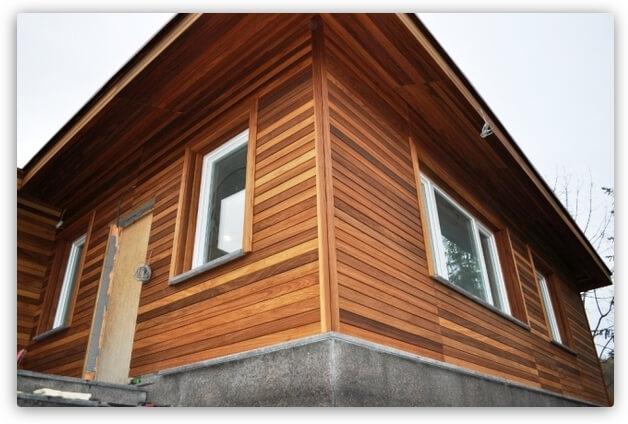 обшить деревянный дом планкеном