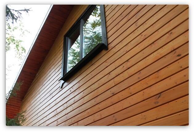 обшить деревянный дом блок-хаусом