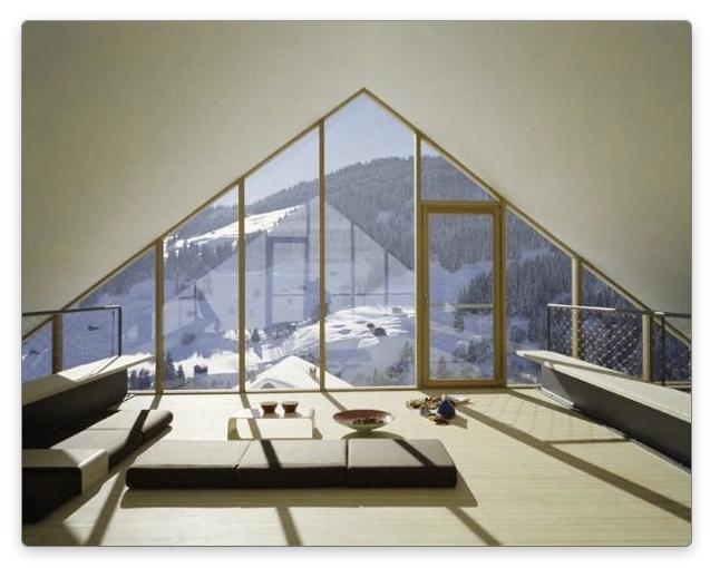 дизайн мансарды с комнатой отдыха