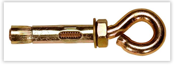 анкерный болт с кольцом