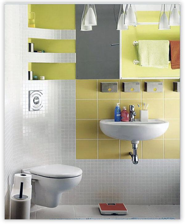 Дизайн туалета в стиле модерн