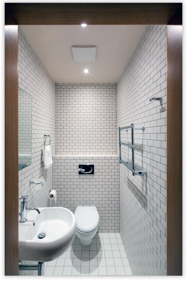Дизайн туалета в стиле минимализма