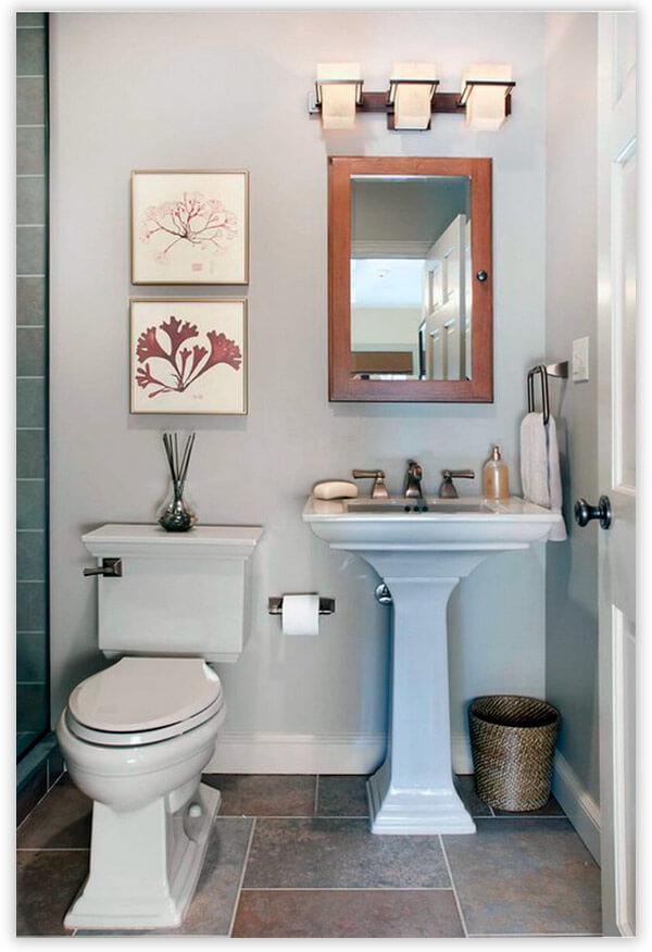 Дизайн туалета в античном стиле