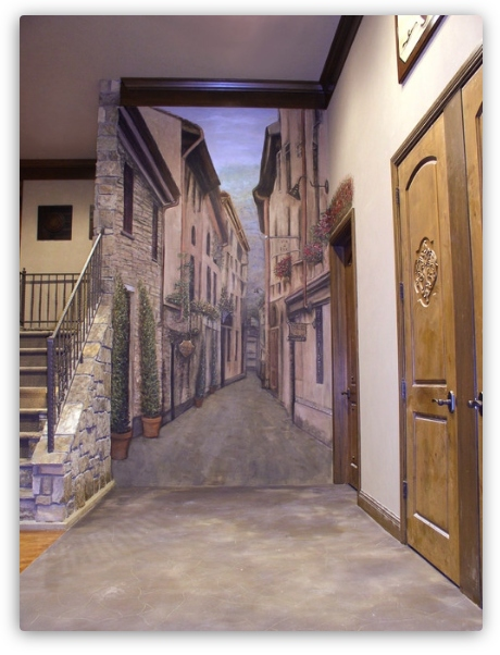 фреска расширения пространства