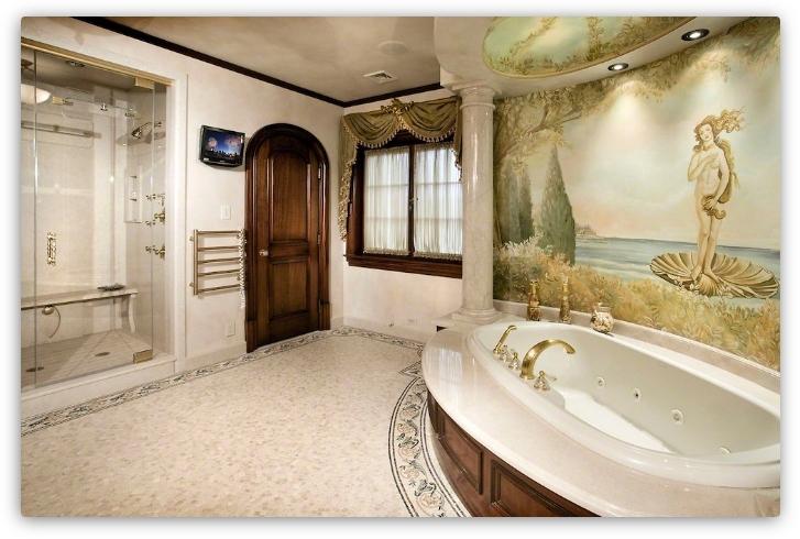 фреска в ванной