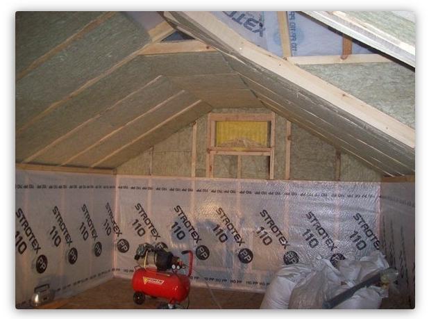 установка крыши в курятнике