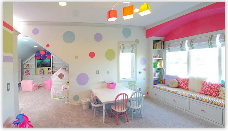 перегородки в детской комнате