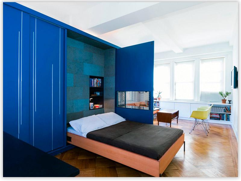 перегородки для зонирования в спальной комнате