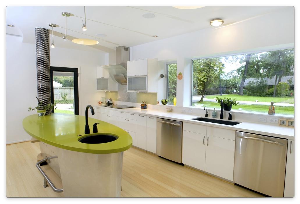дизайн окон на кухне