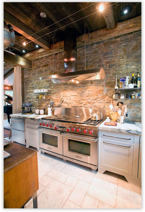 кухня в индустриальном дизайне