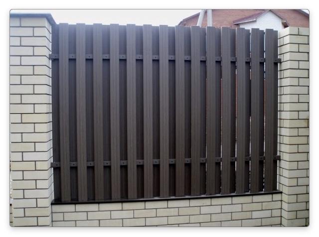 композитный забор