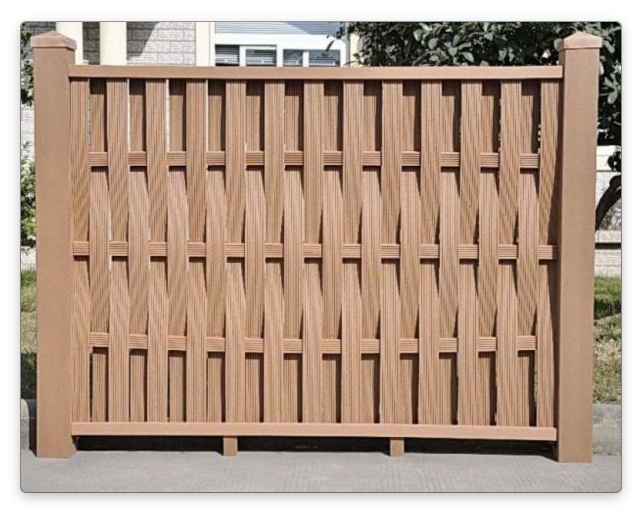 Забор из полимерного композита