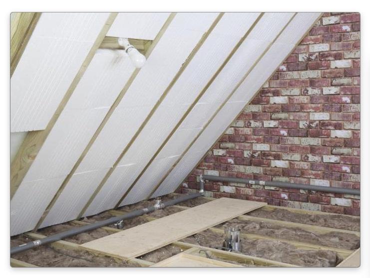 Как утеплить крышу мансарды изнутри
