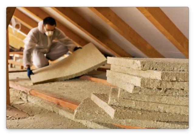 Как утеплить крышу мансарды минеральной ватой