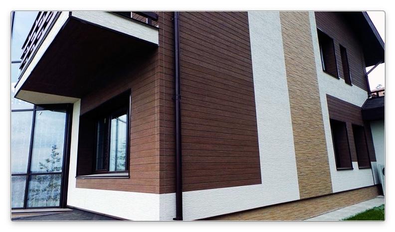 отделка дома из СИП панелей вентилируемым фасадом