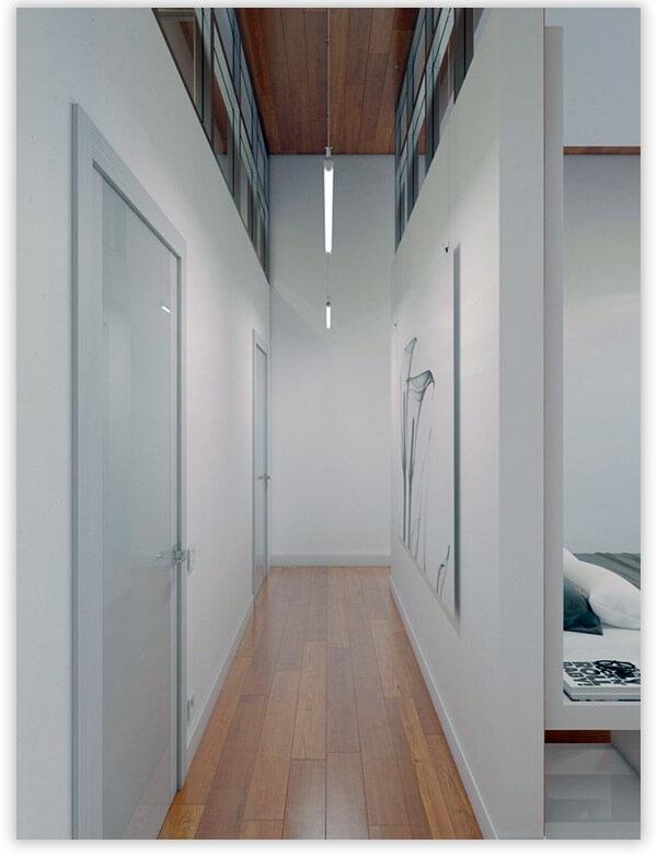 дизайн прихожей в квартире минимализм