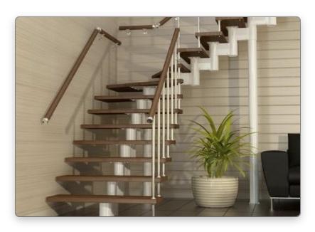 Как смонтировать новую лестницу