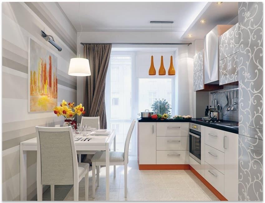 Картины для интерьера в кухне