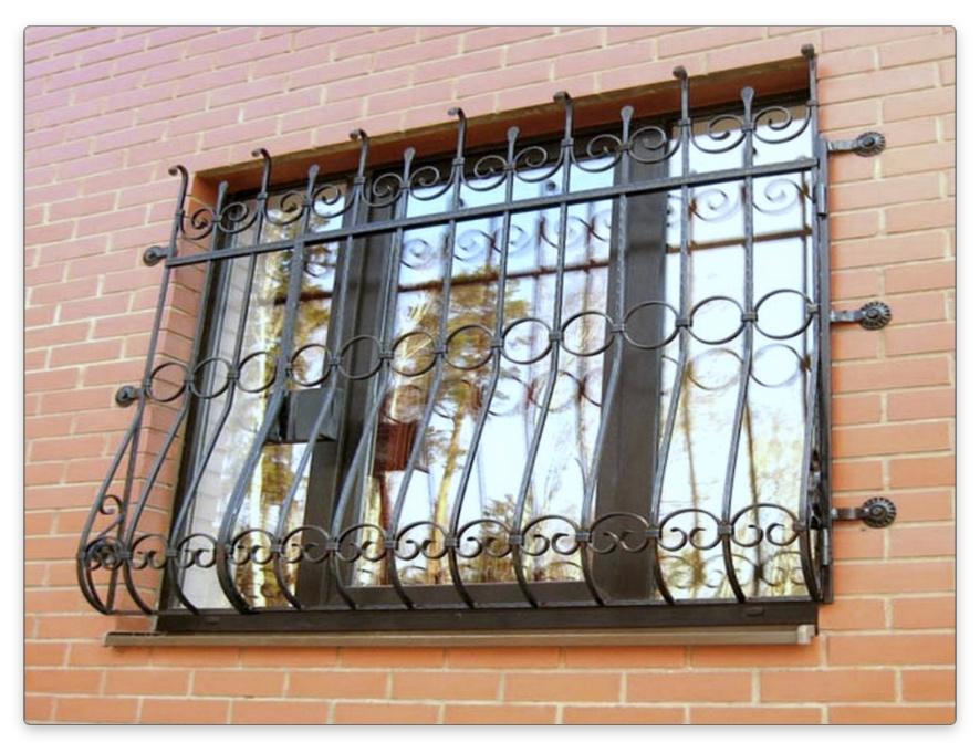 решетка на окна фото