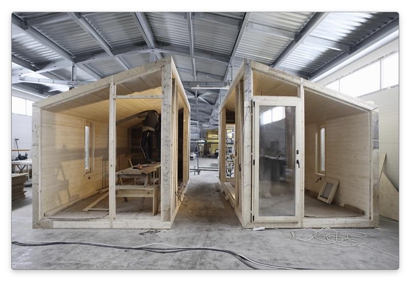 Блоки модульного дома