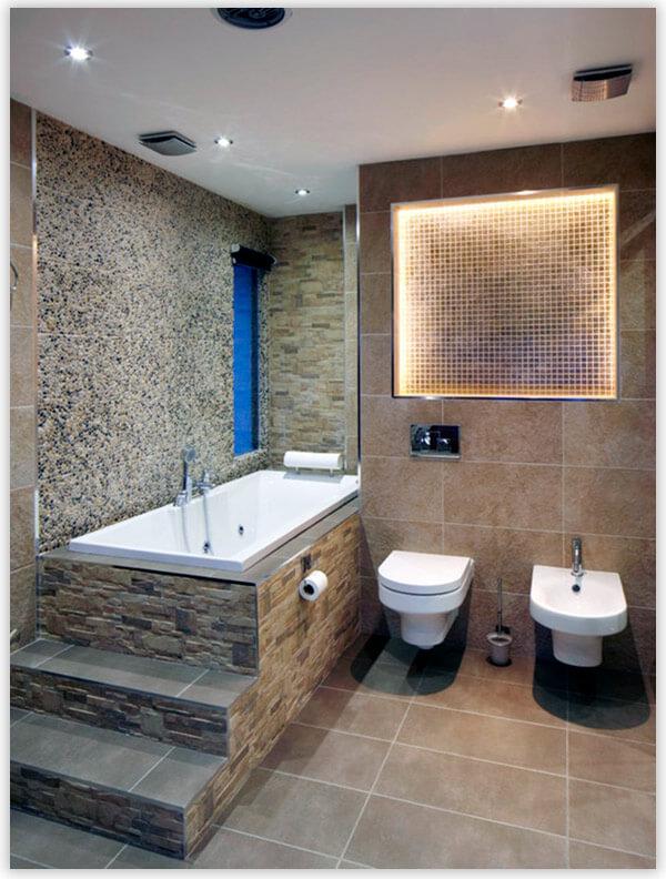 плитка для ванной комнаты натуральный камень