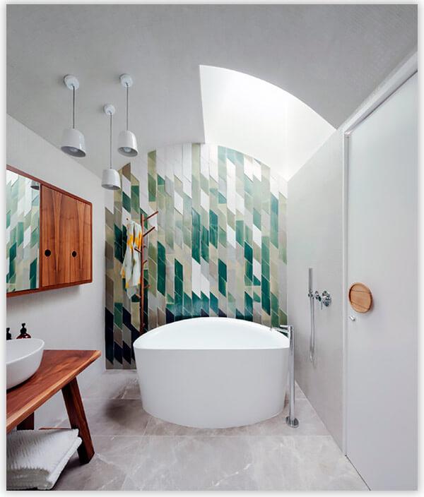 плитка для ванной комнаты эко стиль