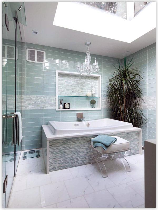 плитка для ванной комнаты водная тематика