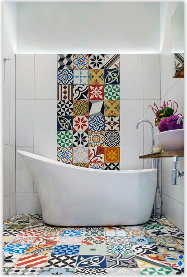 плитка для ванной комнаты модерн