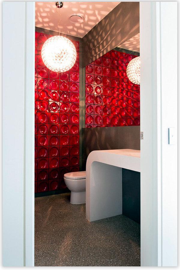 плитка для ванной комнаты объемная