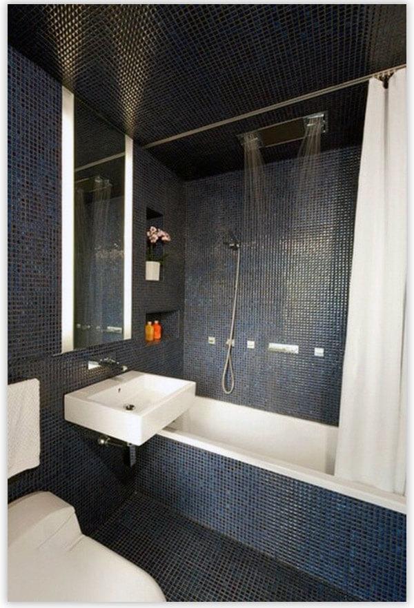 плитка для ванной мозаика