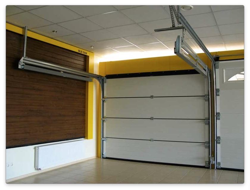 ворота для гаража подъемные
