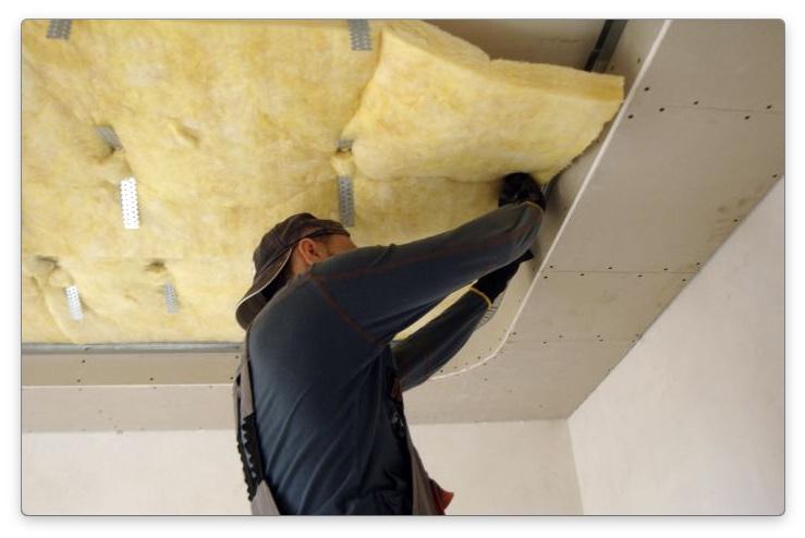 звукоизоляция потолка из гипсокартона
