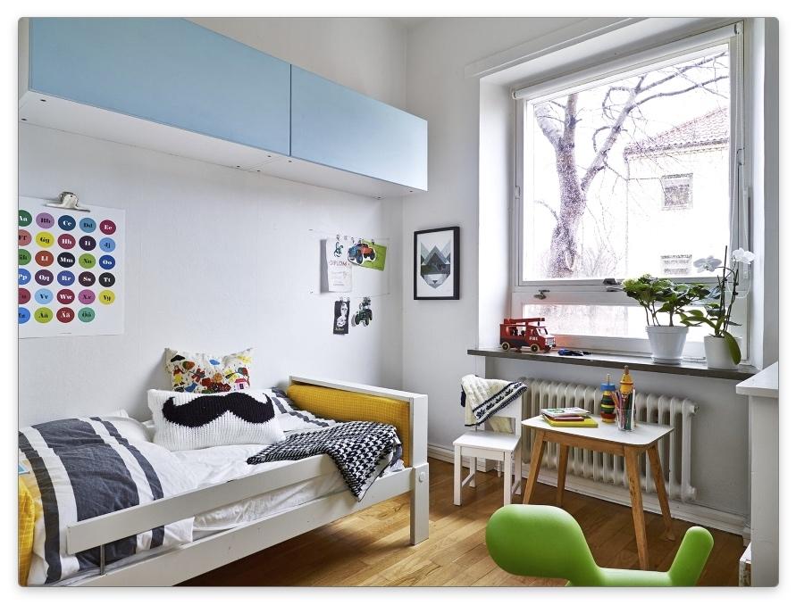 дизайн детской комнаты для мальчика 3-7 лет