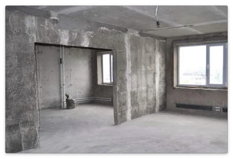 С чего начинается ремонт в комнате