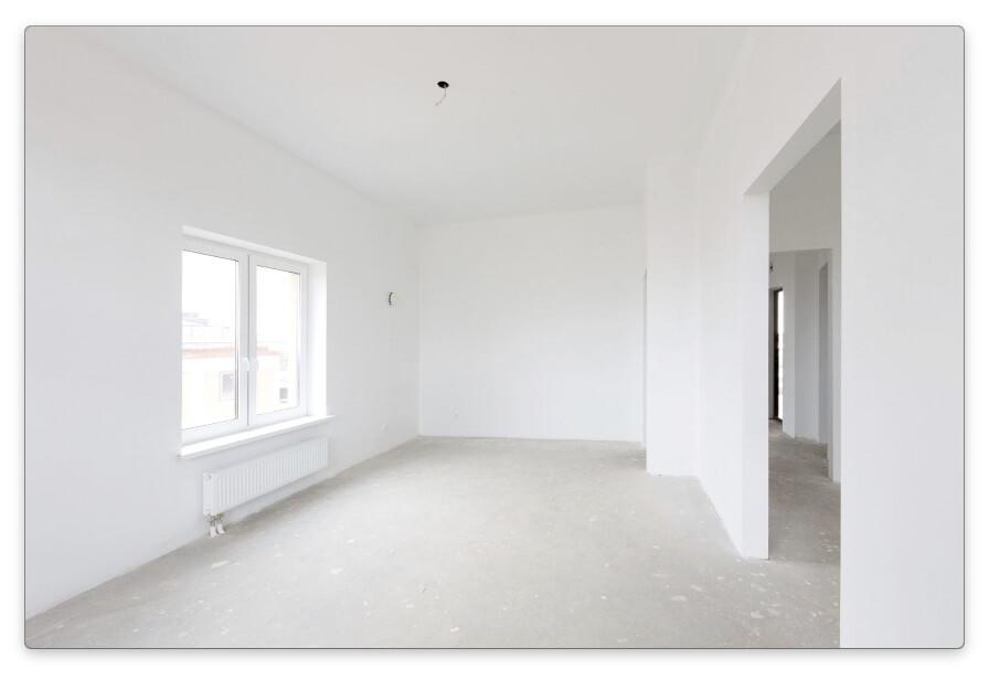 квартиры с черновой отделкой