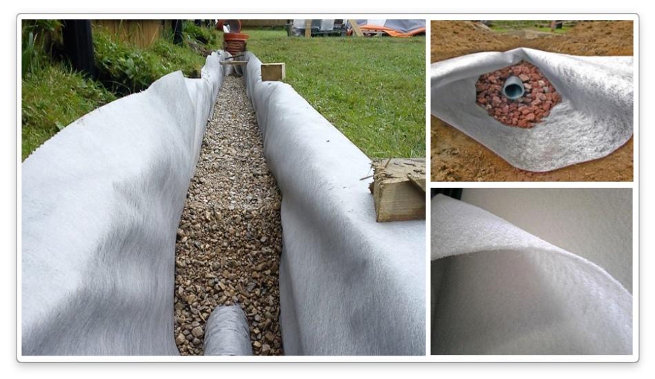 геоткань для дренажных систем