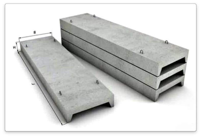 строительные бетонные плиты