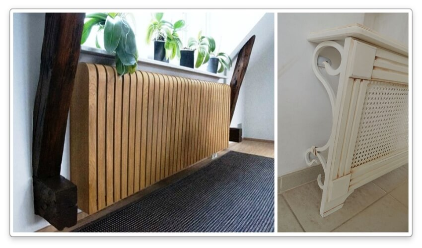 декоративная решетка из дерева